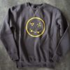 heavy crew-neck sweatshirt, manufactured with very resistant fabric