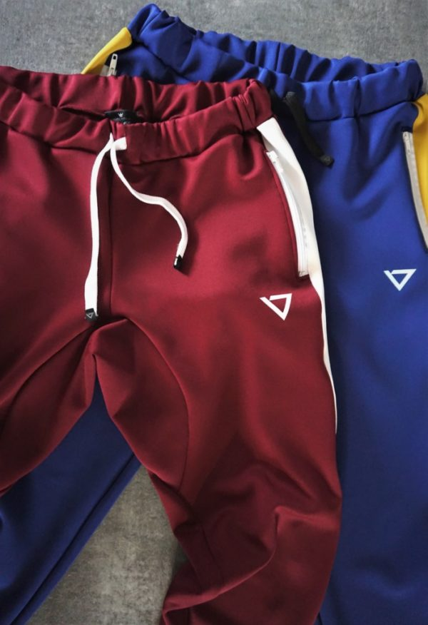 highly functional performant pants, inspired by the style of street skateboarding